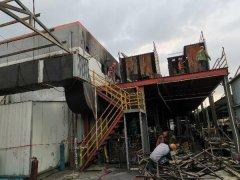 苏州某厂房火灾后损伤检测