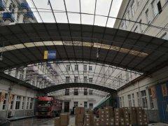宁波某公司钢结构雨棚安全性检测