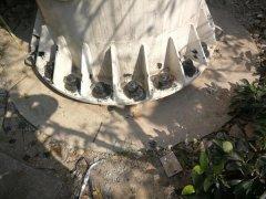 荆州市某体育中心铁塔完损检测