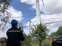 风力发电机塔筒垂直度检测方法与步骤