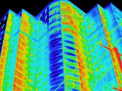 红外线热成像检测外墙裂缝