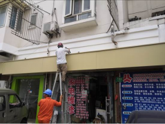上海市广告牌螺栓拉拔专项检测