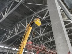 钢结构网架整体性检测方法
